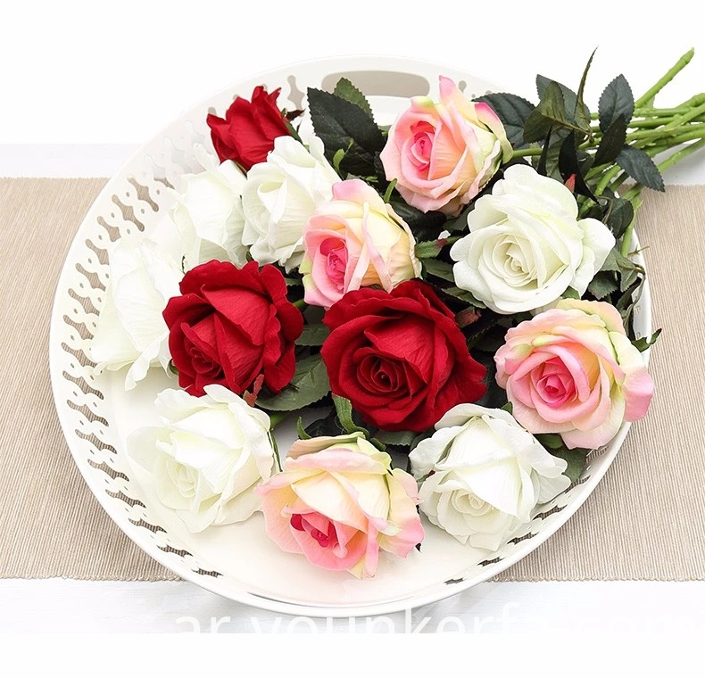Rose Artificial Flowers 7 Jpg